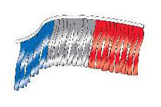 Metallic Fringe Full-Cut - Red, Silver,Blue 30'