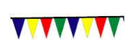 OSHA Pennants Assorted