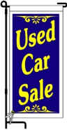 Ground Banners Used Car Sale